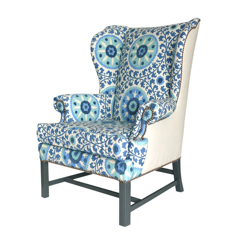 Wingback Chair At 1stdibs