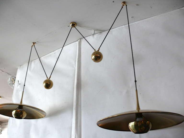Florian Schulz Double Counter Balance Pendants For Sale 4