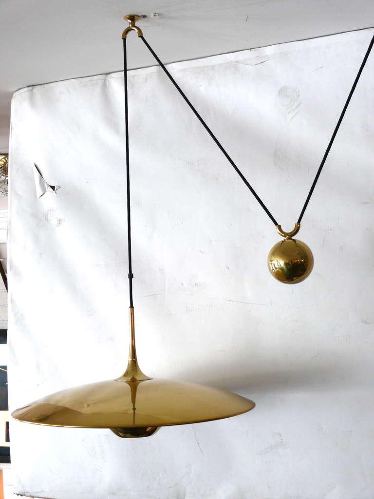 German Florian Schulz Double Counter Balance Pendants For Sale