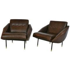 Italian Low Lounge Chairs