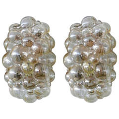 Pair of Austrian Bubble Sconces