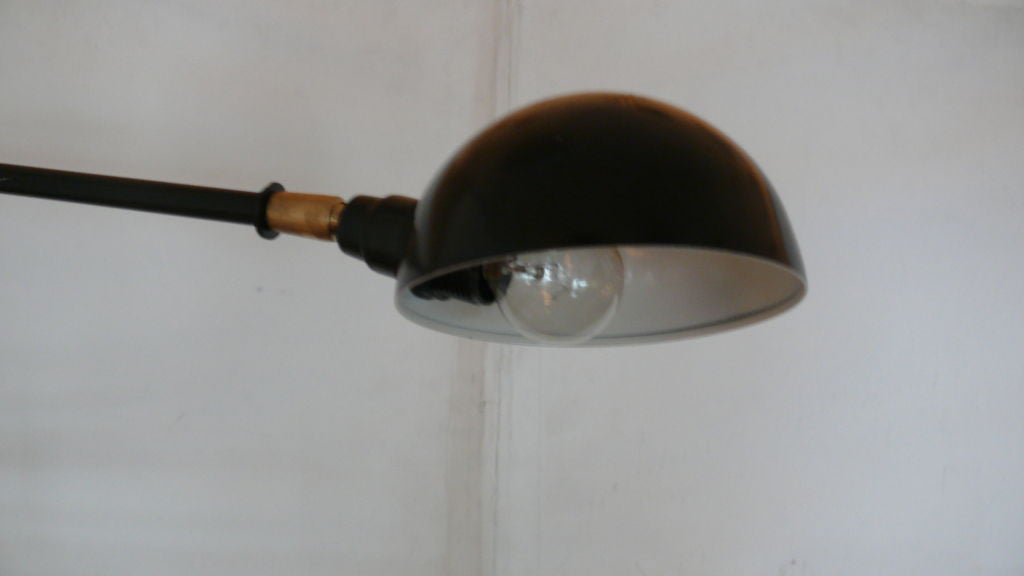 Contemporary Giant French Articulating Double Arm Sconce
