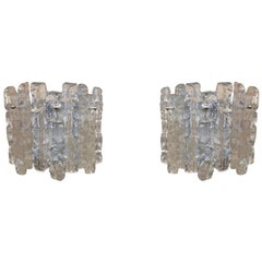 Large Kalmar Icicle Sconces
