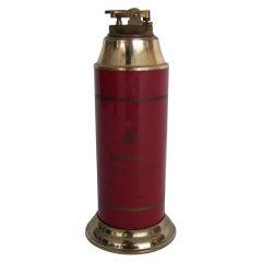 Large Dunhill Lighter and Cigarette Holder