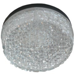 Austrian Bubble Glass Flush Mount