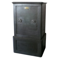 """Large 19th Century French """"Haffner"""" Safe"""