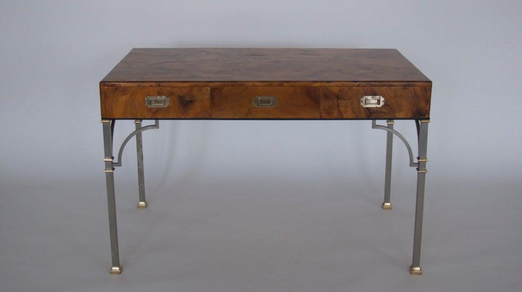 Olivewood Burl Writing Desk image 10