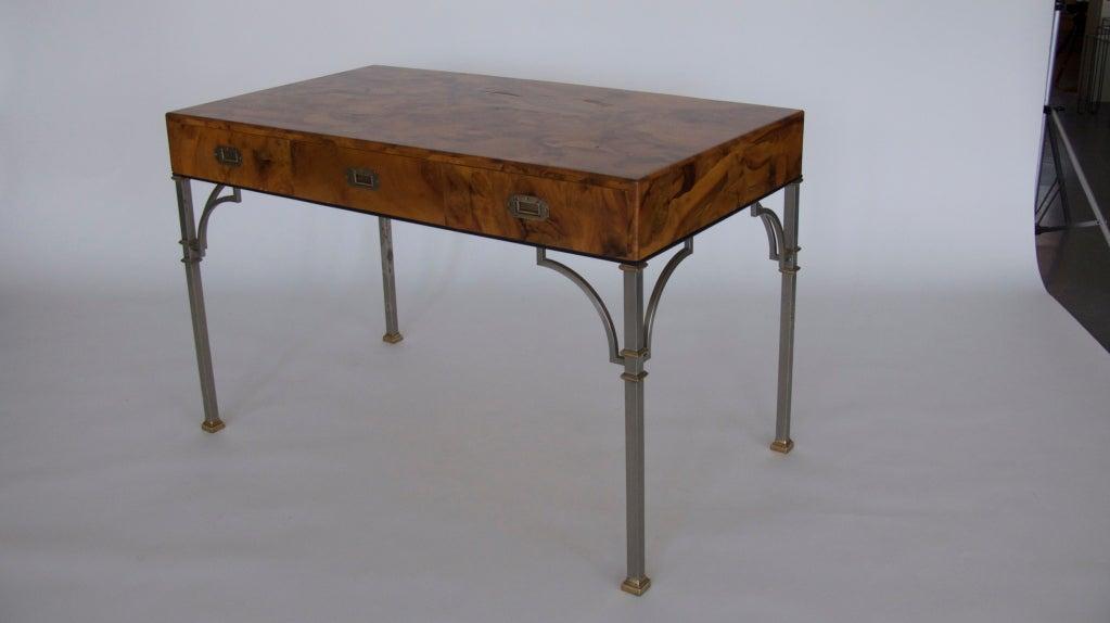 Olivewood Burl Writing Desk image 2