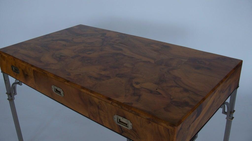 Olivewood Burl Writing Desk image 3