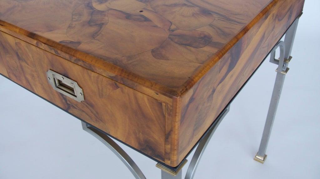 Olivewood Burl Writing Desk image 5