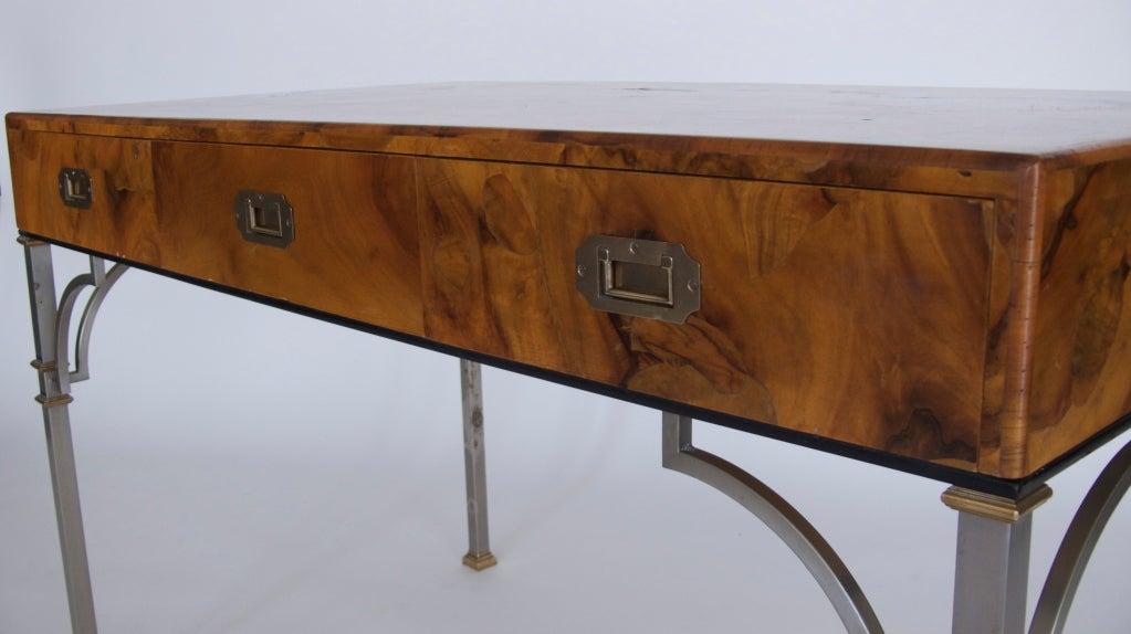 Olivewood Burl Writing Desk image 6