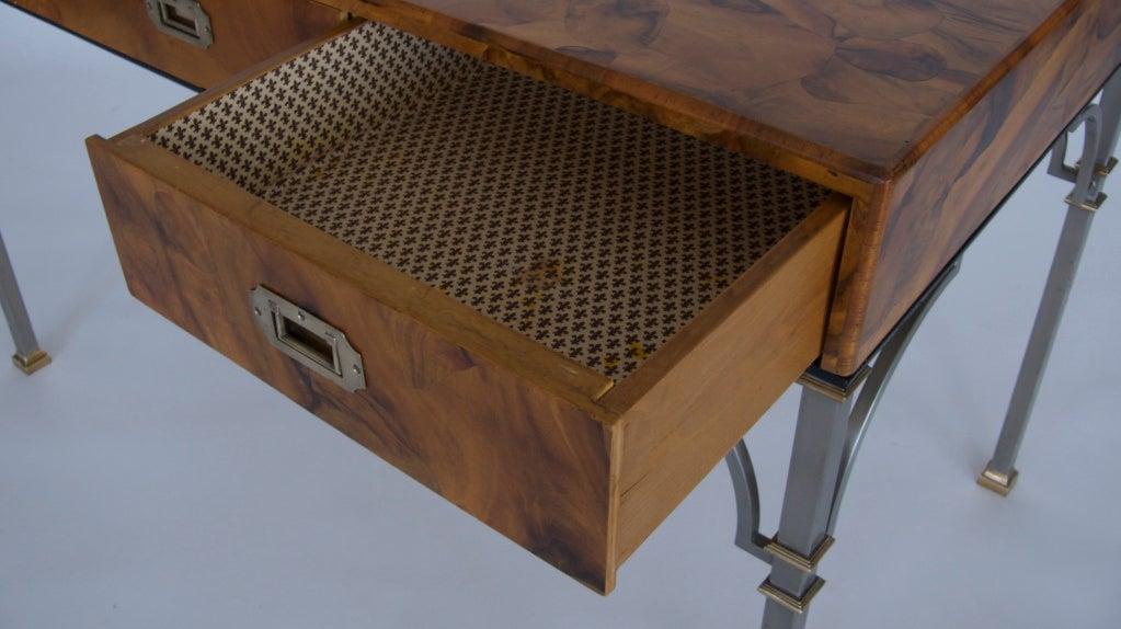 Olivewood Burl Writing Desk image 7