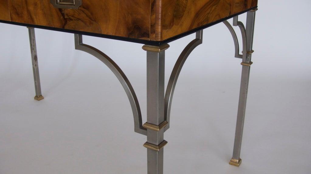 Olivewood Burl Writing Desk image 8