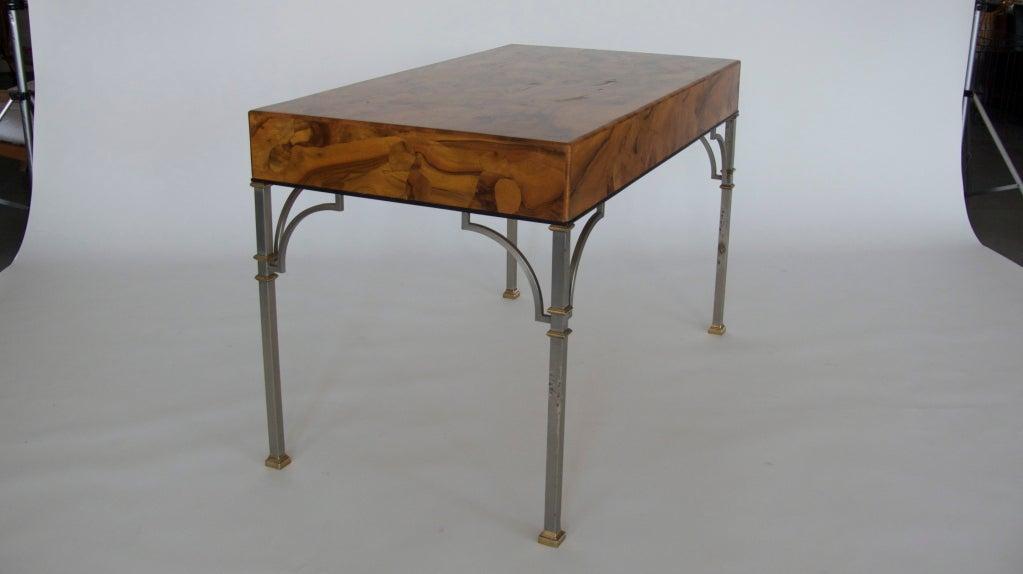 Olivewood Burl Writing Desk image 9
