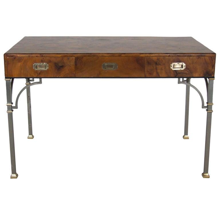 Olivewood Burl Writing Desk