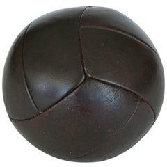 French Leather Medicine Balls