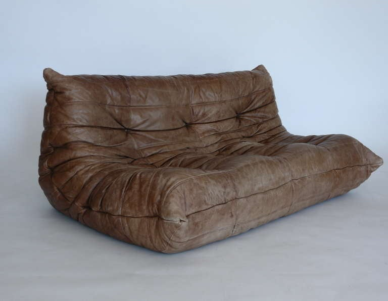 Togo leather sofa by michel ducaroy for ligne roset at 1stdibs - Michel ducaroy togo sofa ...