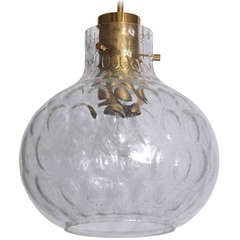 Petite Glass Globe Pendant