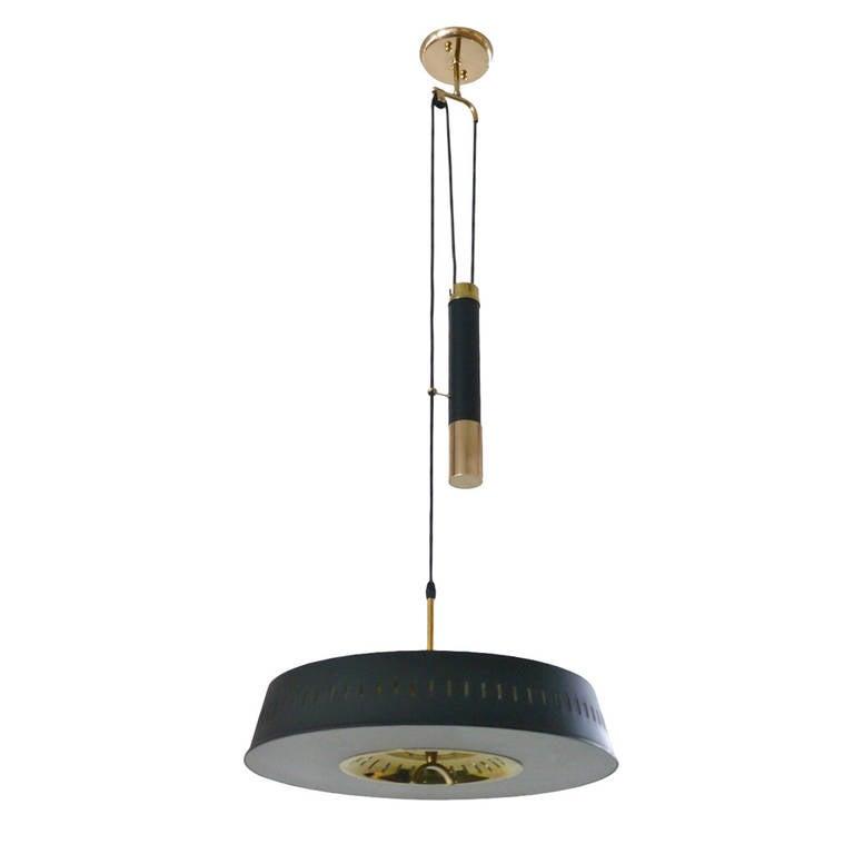 Italian Counterbalance Ceiling Light
