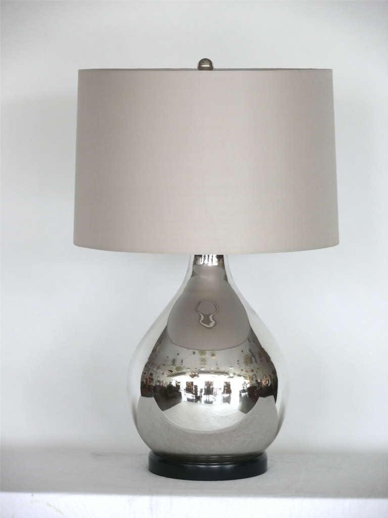 mercury glass lamp at 1stdibs. Black Bedroom Furniture Sets. Home Design Ideas