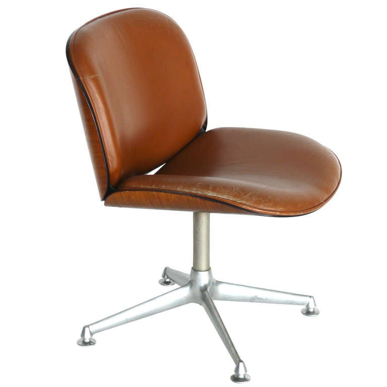 Mim Desk Chair By Ico Parisi At 1stdibs