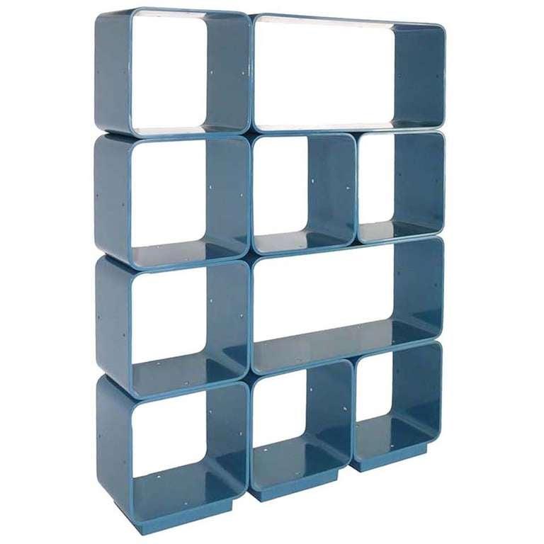 Italian Modular Cube Shelving At 1stdibs