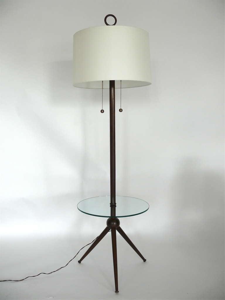 Italian Tripod Floor Lamp For Sale At 1stdibs
