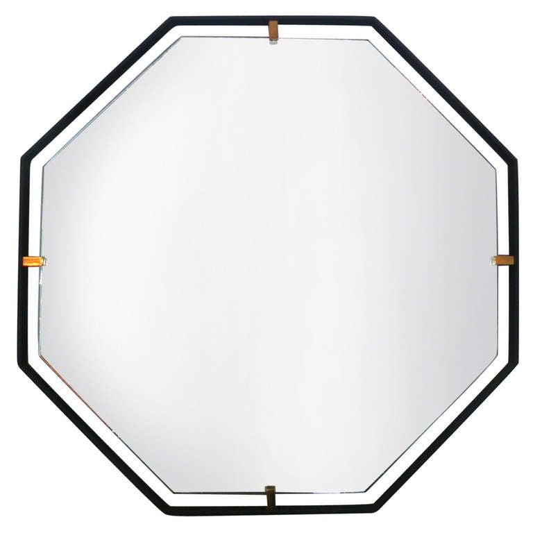 Trousdale Octagonal Mirror by Orange Los Angeles