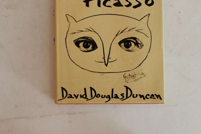 A wonderful collection of photographs of Pablo Picasso's life and art, taken by his friend and award-winning photojournalist David Douglas Duncan. Published in 1974. Books are in vintage condition with wear and use that is consistent with their age.