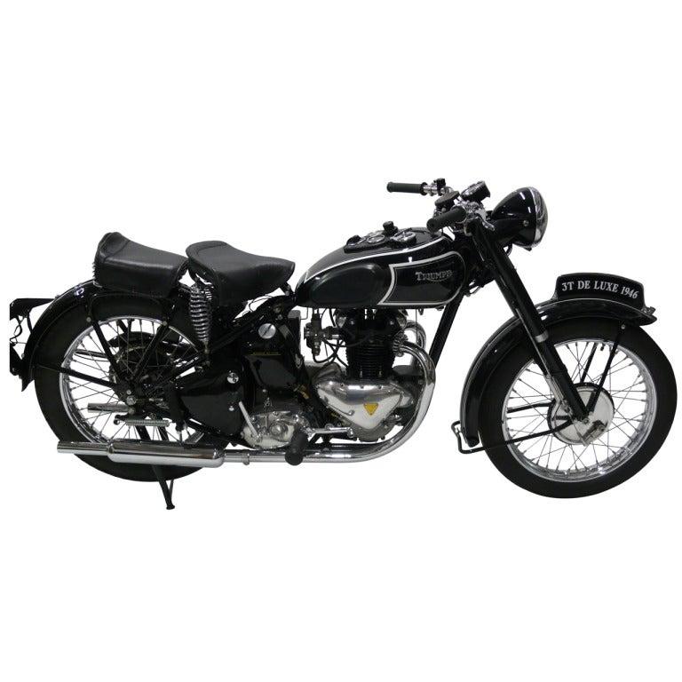 1946 Triumph Model 3T Deluxe 350