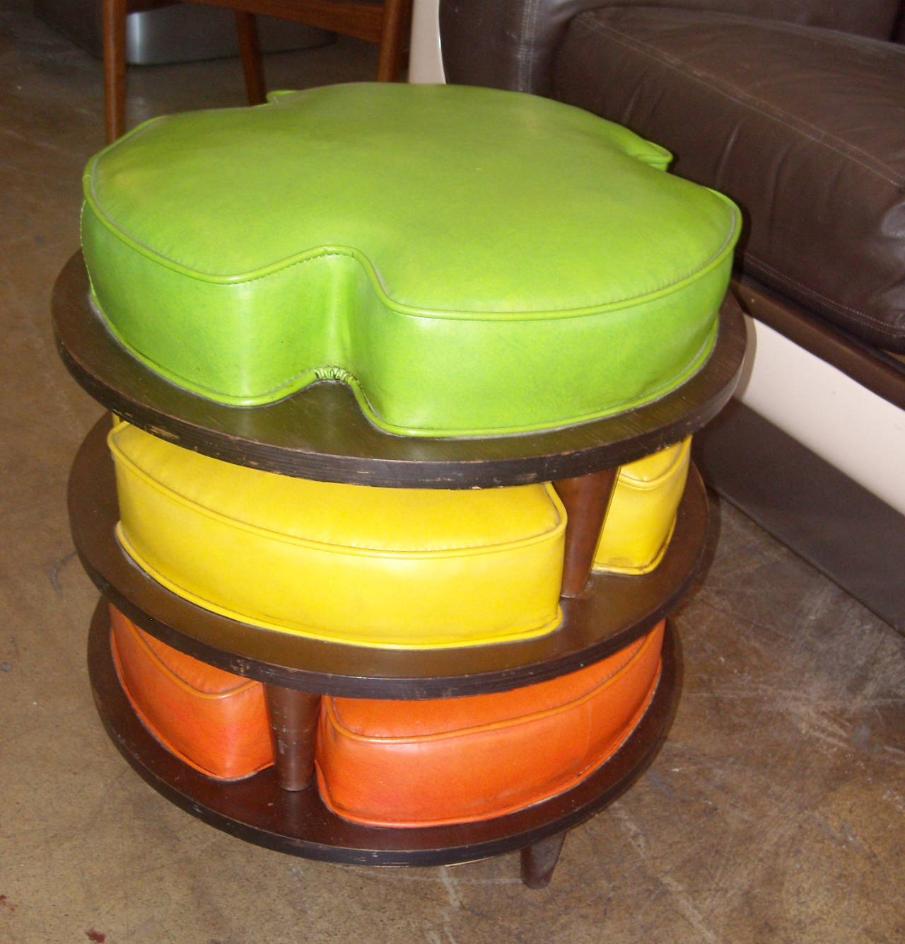 Thomasville Adorable Stackable Foot Stools Or Ottomans