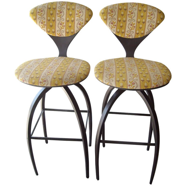 Plycraft Pair of Early Bentwood Bar Stools Designed for Norman Cherner 1  sc 1 st  1stDibs & Plycraft Pair of Early Bentwood Bar Stools Designed for Norman ... islam-shia.org