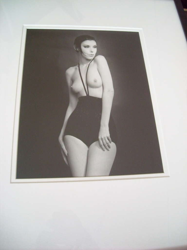 American William Claxton Silver Gelatin Print of Peggy Moffit, Signed and Dated For Sale