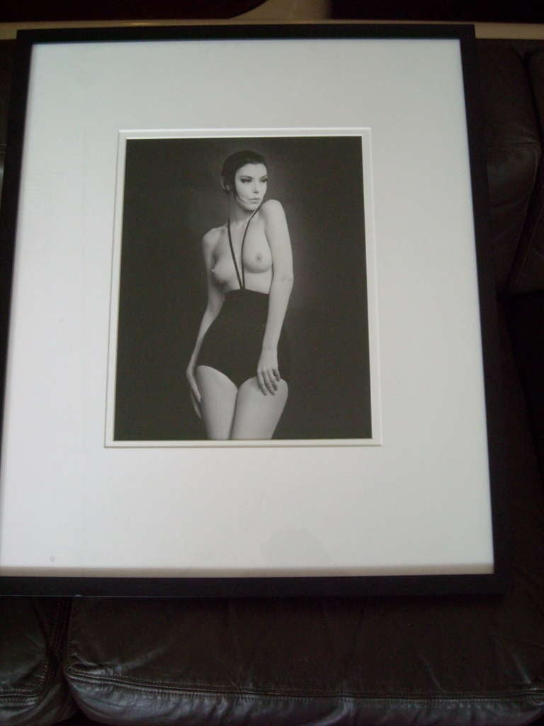 "We have a very nice an important photo of the well known artist William Claxton of Peggy Moffit in Rudi Gernreich's Topless Swimsuit"" This photo was part of a friend Ray Jacob 1928- 2010. This photo is stamped , signed and dated in the back. Is"