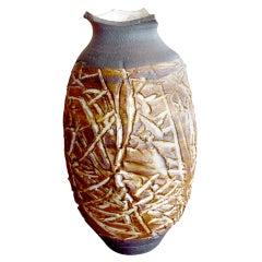 Raul Coronel studio ceramic/pottery vase