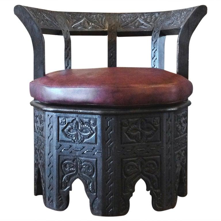 Octagonal Chair 1