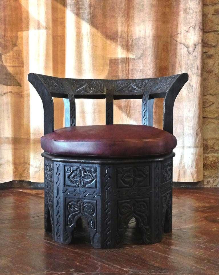 Octagonal Chair 2