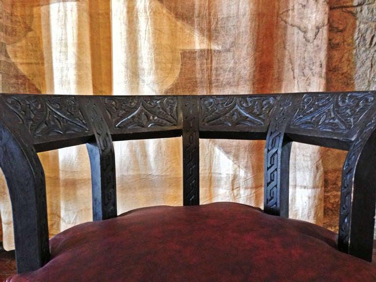 Octagonal Chair 7