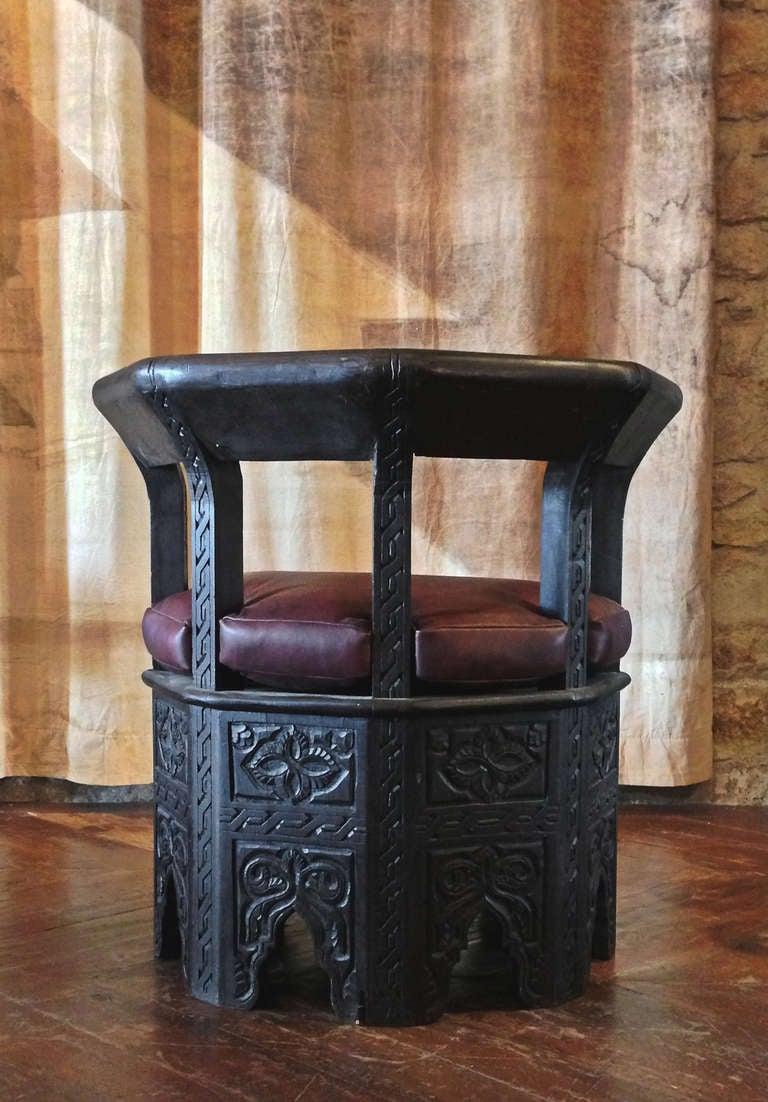 Octagonal Chair 8