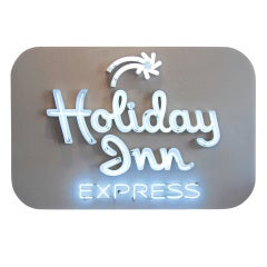 Holiday Inn Express Sign