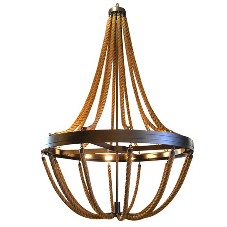 Rope Chandelier For Sale