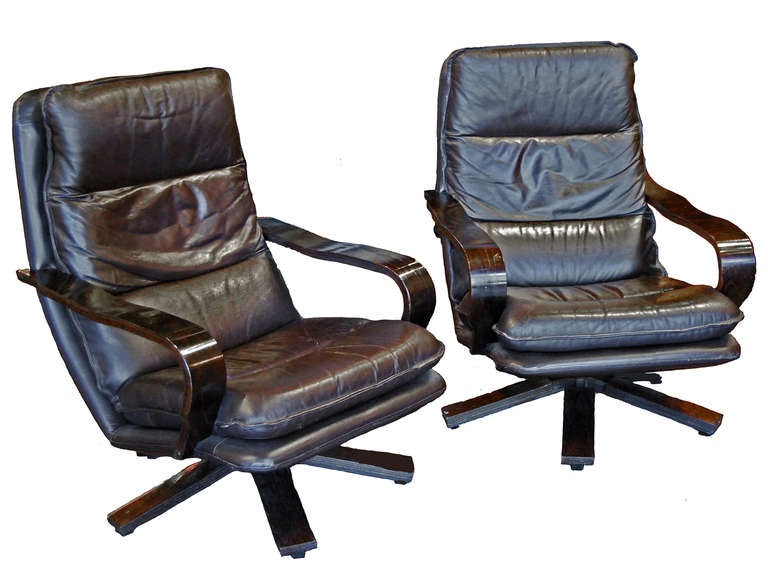 this vintage danish swivel chairs is no longer available
