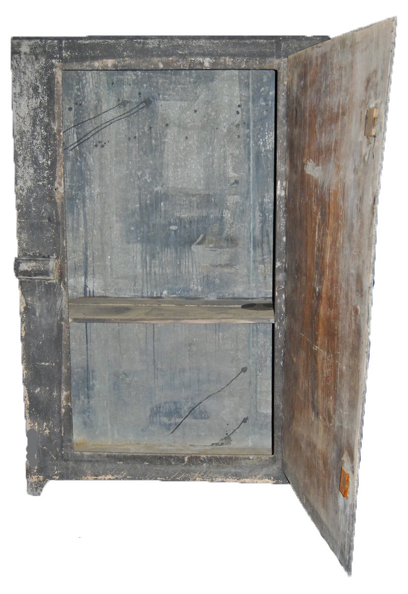 super rare garden cabinet / armoire from the end of the 18th century