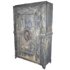 zinc garden cabinet