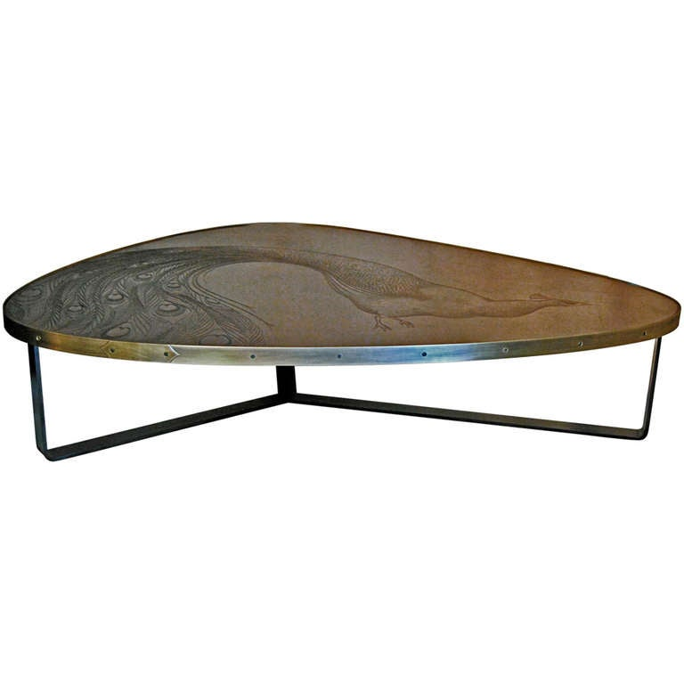 Peacock table at 1stdibs for Peacock coffee table