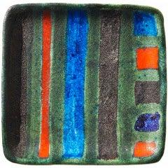 Tray by Guido Gambone
