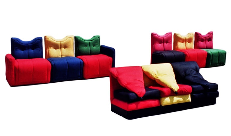 Sofa by Gaetano Pesce SOFA BY GAETANO PESCE SOFA BY GAETANO PESCE SK 42652345235 DIBS l
