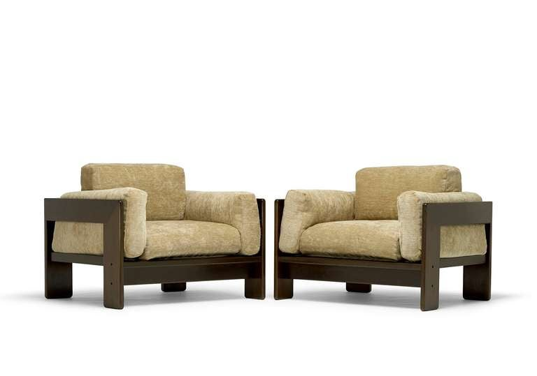 "Pair of ""Bastiano"" Chairs by Afra and Tobia Scarpa 6"