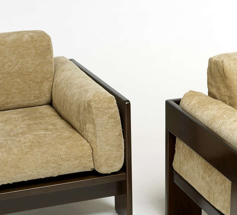 "Pair of ""Bastiano"" Chairs by Afra and Tobia Scarpa 4"