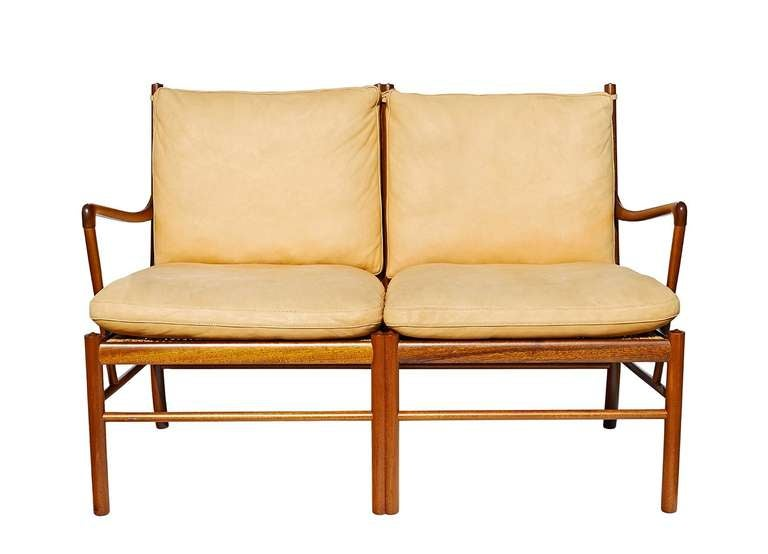 """Colonial"" Settee by Ole Wanscher 2"